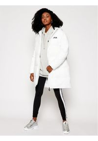 Biała kurtka zimowa Fila