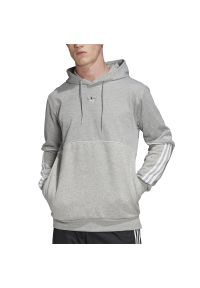 Adidas - ADIDAS OUTLINE HOODIE > FM3914. Materiał: poliester, polar, materiał, bawełna. Wzór: aplikacja. Styl: klasyczny, sportowy