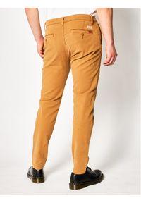 Levi's® Chinosy Standard 17196-0014 Brązowy Tapered Fit. Kolor: brązowy. Materiał: elastan, materiał, bawełna #4
