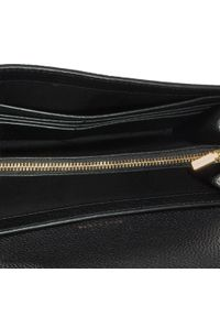 Tory Burch - Torebka TORY BURCH - McGraw Wallet Crossbody 64502 Black 001. Kolor: czarny. Materiał: skórzane. Styl: klasyczny