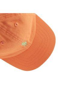 Pomarańczowa czapka Polo Ralph Lauren