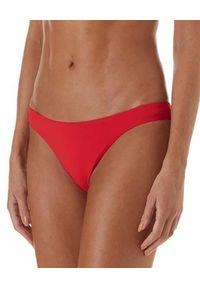 Melissa Odabash - MELISSA ODABASH - Dół od bikini Barcelona. Kolor: czerwony. Materiał: materiał