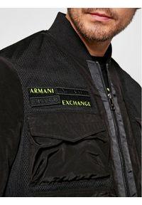 Czarna kurtka bomberka Armani Exchange