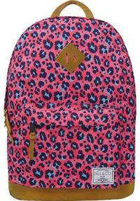 Paul&Co Plecak szkolny Centki różowy. Kolor: różowy