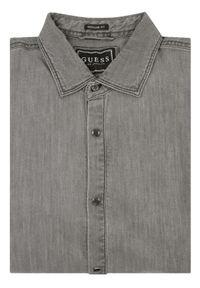 Guess Koszula M01H50 D3YM1 Szary Regular Fit. Kolor: szary