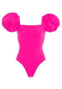 AGUA BENDITA - Różowy jednoczęściowy strój kąpielowy Oazze. Kolor: różowy, wielokolorowy, fioletowy