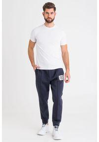 Spodnie dresowe Emporio Armani w kolorowe wzory
