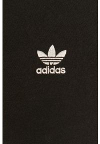 adidas Originals - Spodnie. Kolor: czarny. Materiał: dzianina, materiał
