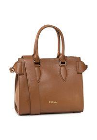Brązowa torebka klasyczna Furla klasyczna