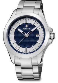 Zegarek Swiza Zegarek męski Urbanus SST srebrny (WAT.0761.1005). Kolor: srebrny