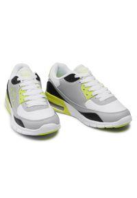 Kappa - Sneakersy KAPPA - Harlem II Tc 242175TC White/Lime 1033. Okazja: na co dzień. Kolor: szary. Materiał: skóra, materiał. Szerokość cholewki: normalna. Sezon: lato. Styl: elegancki, klasyczny, casual #5