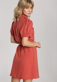 Renee - Ciemnoróżowa Sukienka Thalasea. Kolor: różowy