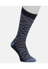 Kazar - Skarpety bawełniane. Kolor: niebieski. Materiał: bawełna