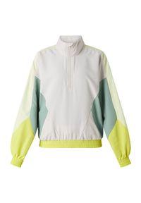 Bluza treningowa damska Energetics Kayla 411124. Materiał: materiał, poliester. Długość: krótkie. Sport: fitness