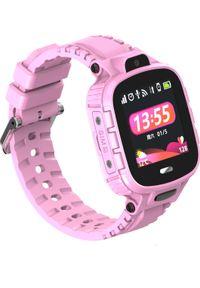 Smartwatch CALMEAN Active Różowy. Rodzaj zegarka: smartwatch. Kolor: różowy