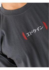 Szary t-shirt Edwin