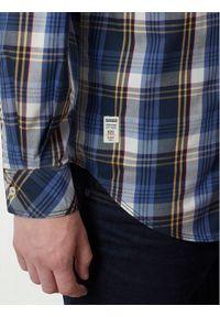 Napapijri Koszula Goayo N0YITV1 Granatowy Regular Fit. Kolor: niebieski