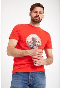 T-shirt Just Cavalli elegancki