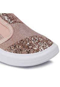 Bibi - Sneakersy BIBI - Glam 1109052 Gliter/Camellia. Kolor: różowy. Materiał: materiał. Szerokość cholewki: normalna. Wzór: aplikacja