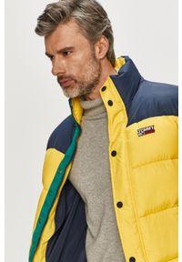 Żółta kurtka Tommy Jeans na co dzień, bez kaptura #7