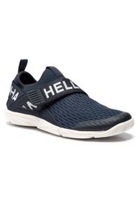 Niebieskie buty sportowe Helly Hansen z cholewką, żeglarskie