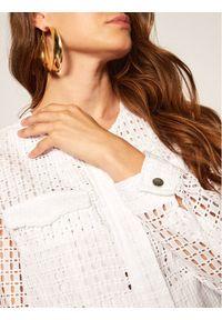 Biała kurtka przejściowa DKNY