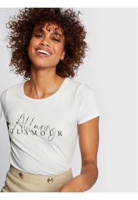 Morgan T-Shirt 211-DALUR Biały Regular Fit. Kolor: biały