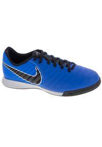 Niebieskie halówki Nike z cholewką