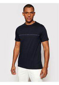 Baldessarini T-Shirt Theo 20009/000/5015 Granatowy Regular Fit. Kolor: niebieski