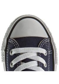 Niebieskie półbuty Converse na co dzień, casualowe, z cholewką