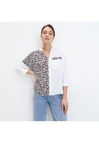 Mohito - Koszula z zamkiem Eco Aware - Biały. Kolor: biały