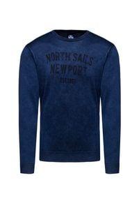 North Sails - Sweter NORTH SAILS. Materiał: wiskoza, bawełna. Wzór: gładki, nadruk. Styl: vintage