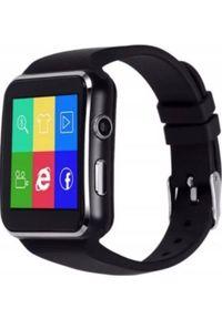 Smartwatch PDS X6 Czarny. Rodzaj zegarka: smartwatch. Kolor: czarny
