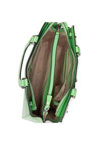 Guess - Torebka GUESS - Katey HWCY78 70070 GRE. Kolor: zielony. Materiał: skórzane. Styl: klasyczny