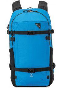 Niebieski plecak Pacsafe