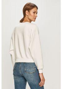 Biała bluza only z nadrukiem, bez kaptura