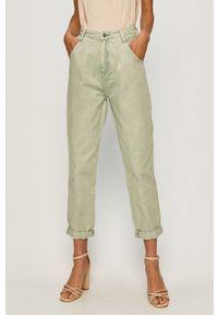 Zielony jeansy loose fit TALLY WEIJL