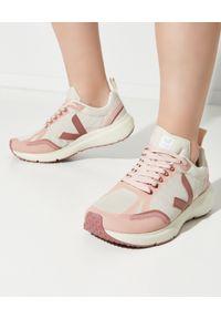 Veja - VEJA - Sneakersy Condor 2 Alveomesh. Kolor: różowy, wielokolorowy, fioletowy. Materiał: poliester, guma. Szerokość cholewki: normalna. Wzór: aplikacja