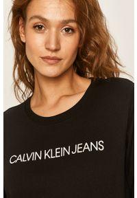 Szara bluza Calvin Klein Jeans na co dzień, casualowa