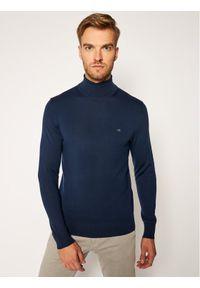 Niebieski golf Calvin Klein z golfem
