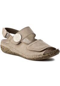 Szare sandały Rieker