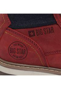 Czerwone buty trekkingowe Big-Star