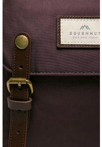Fioletowy plecak Doughnut w paski