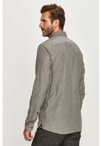 Szara koszula JOOP! z długim rękawem, długa