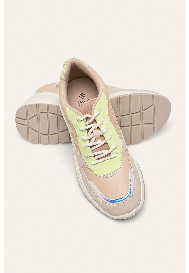 Buty sportowe Call It Spring z okrągłym noskiem, na sznurówki