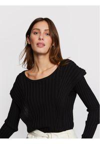 Czarny sweter klasyczny Morgan