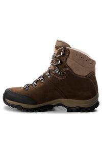 Brązowe buty trekkingowe MEINDL z cholewką, trekkingowe #7