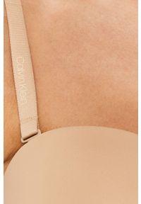 Beżowy biustonosz Calvin Klein Underwear z fiszbinami