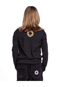 ROBERT KUPISZ - Czarny t-shirt Crazy Bull Longsleeve. Kolor: czarny. Materiał: bawełna. Długość rękawa: długi rękaw. Długość: długie. Wzór: nadruk, kolorowy #3