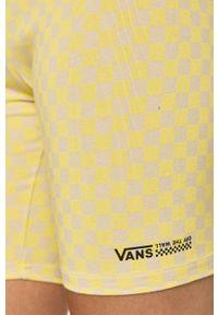 Vans - Szorty. Kolor: żółty
